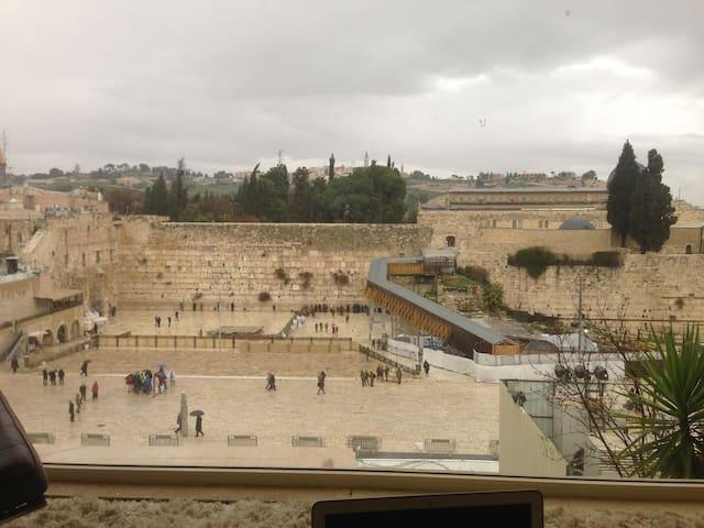 The house on the Kotel/Western Wall - Jerusalem - 公寓