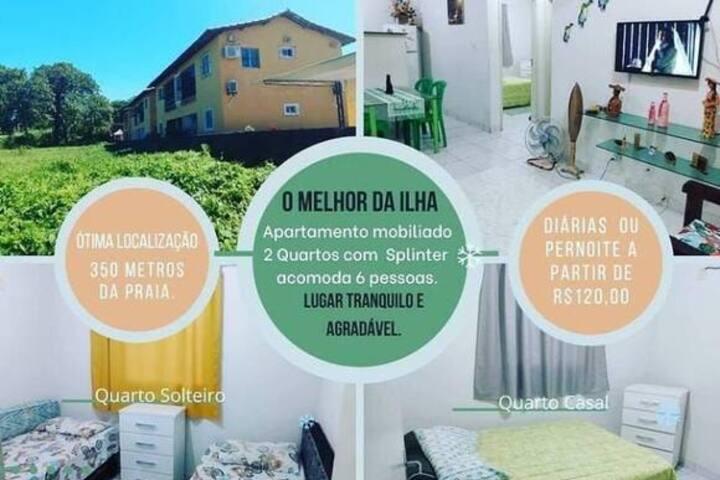 Apartamento mobiliado ilha de Itamaracá