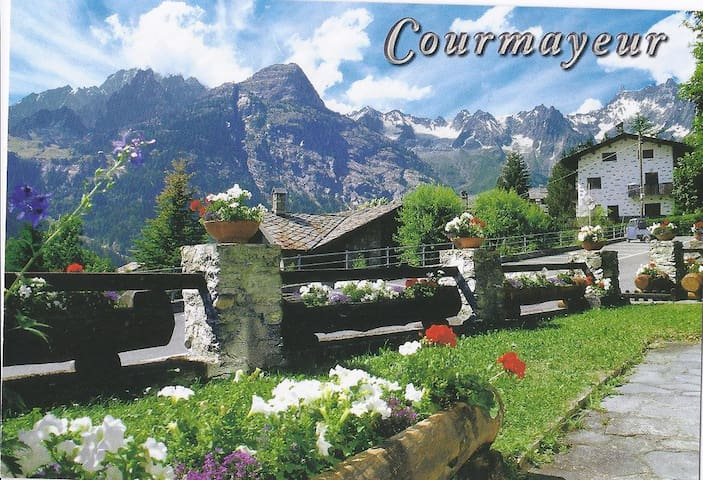 Postcard house - Stunning Mont Blanc view - Verrand - Appartement