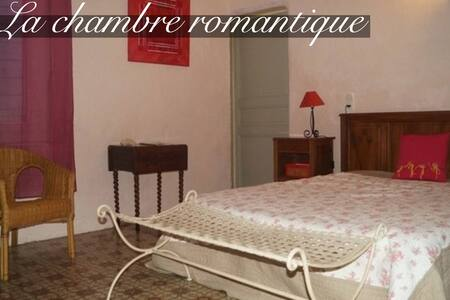 Romantic room in an 18th century mysterious house