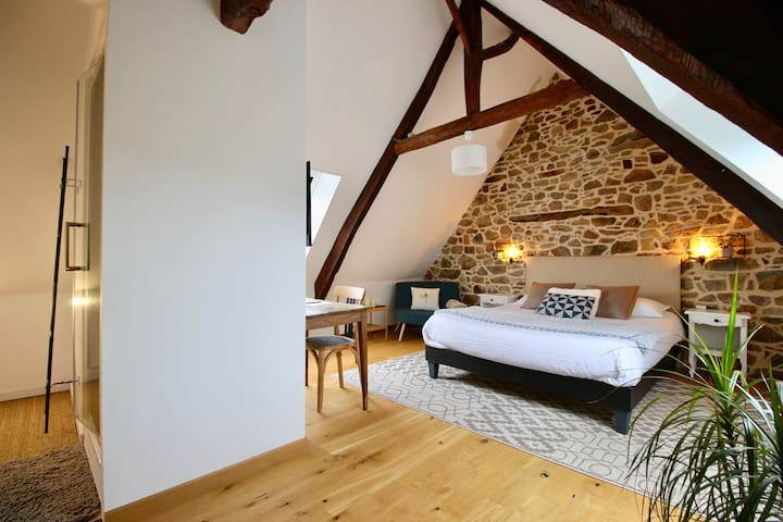 Chambre d'hôtes, B&B, charming and bright