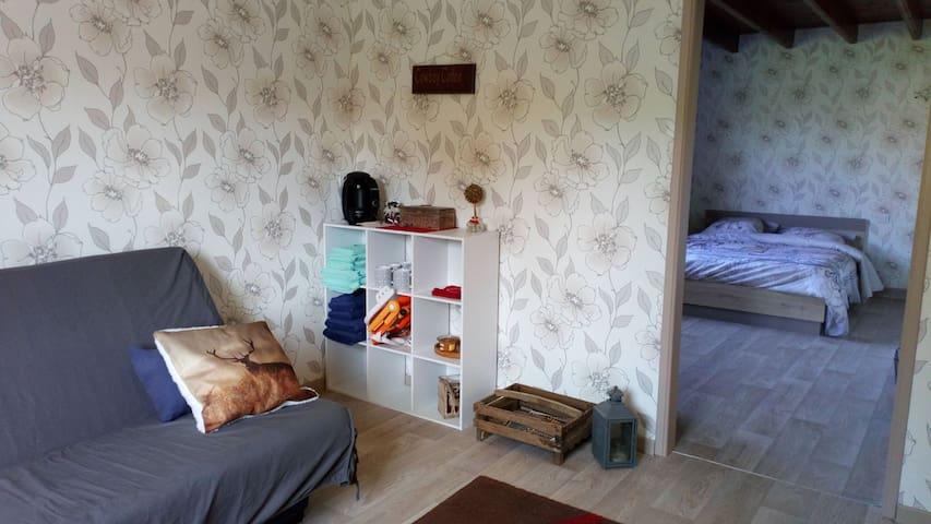 Double chambre en pleine campagne