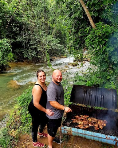 Jerk Chicken By The River (Airbnb Experience)