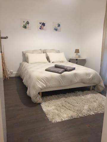 Appart 3 chambres 1km de Rouen - Mont-Saint-Aignan - Byt