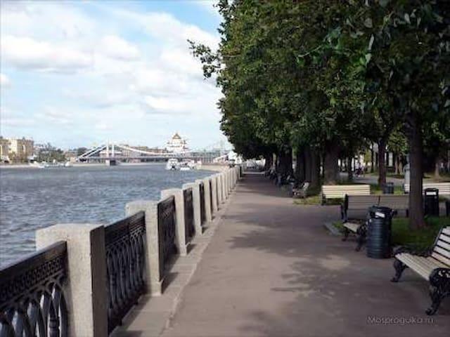 Gorky Park is only 5 min by walk