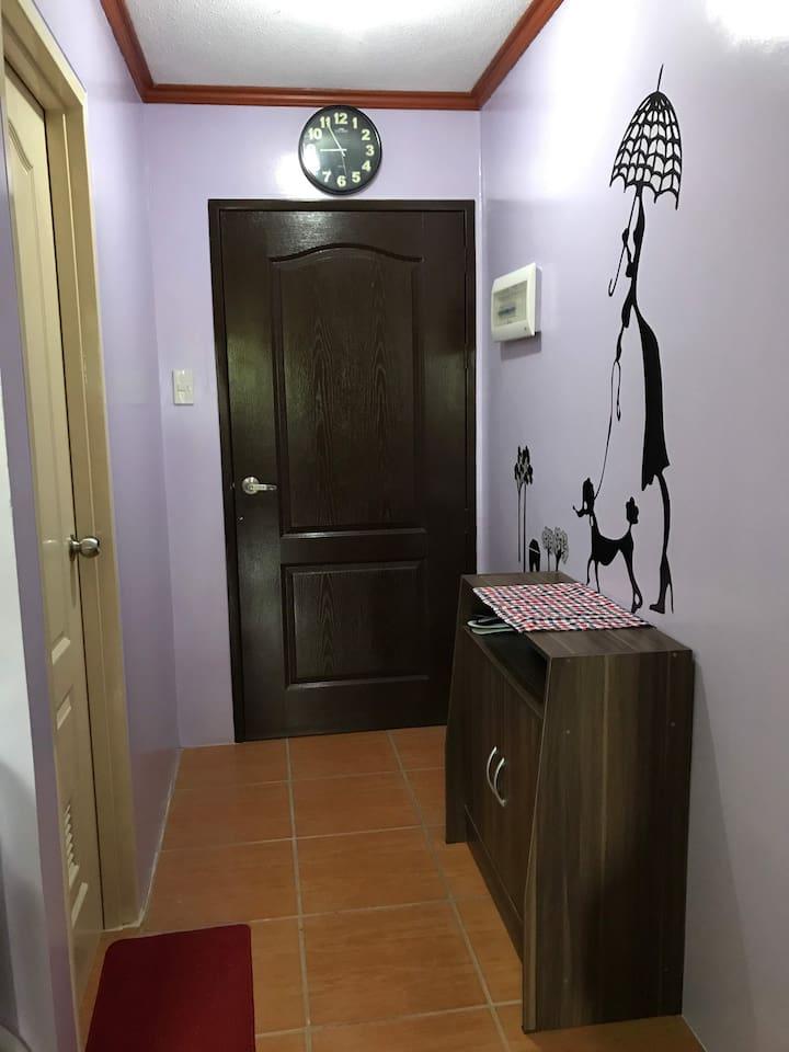 Room main door