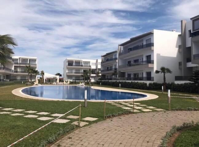 Appartement à Blanca beach à sidi Rahal