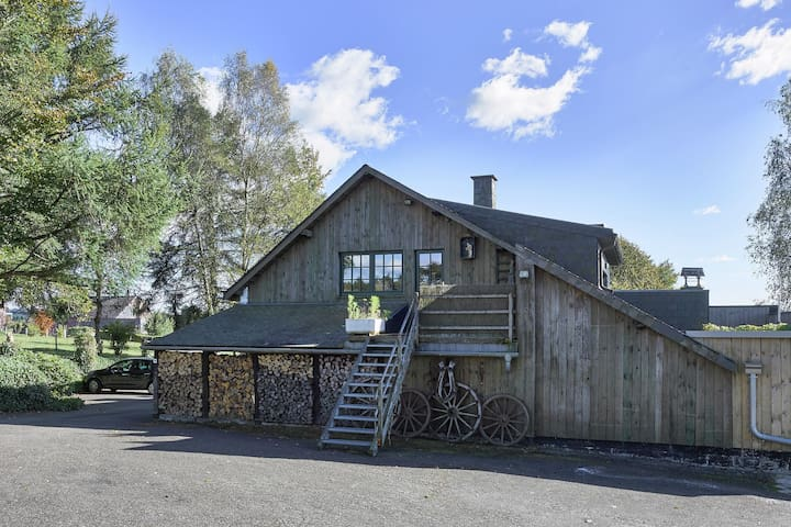 Cozy, authentic cottage with fireplace, in the Hautes Fagnes