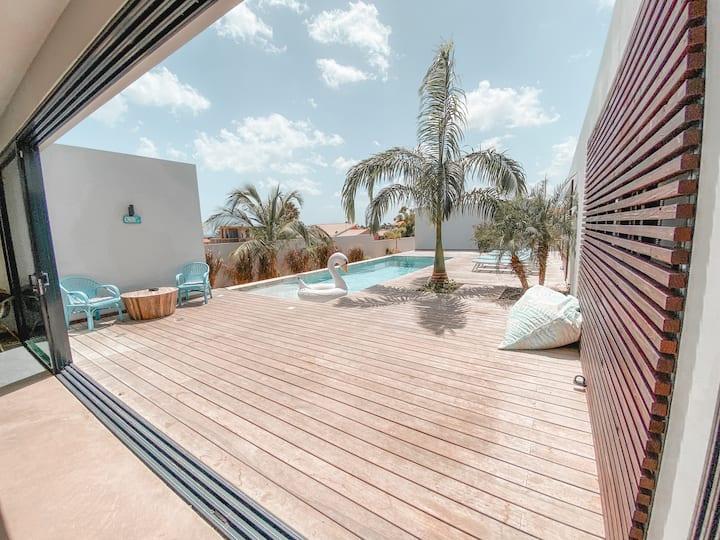 Spacious Villa, close to the beach! (4 BDRM)