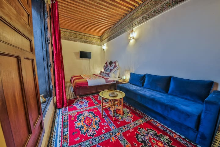 Authentic Moroccan Riad, Inas Room