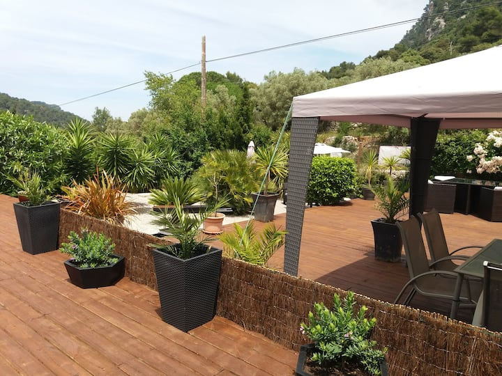 Tranquil Apt. in Tramuntana Mountains with pool