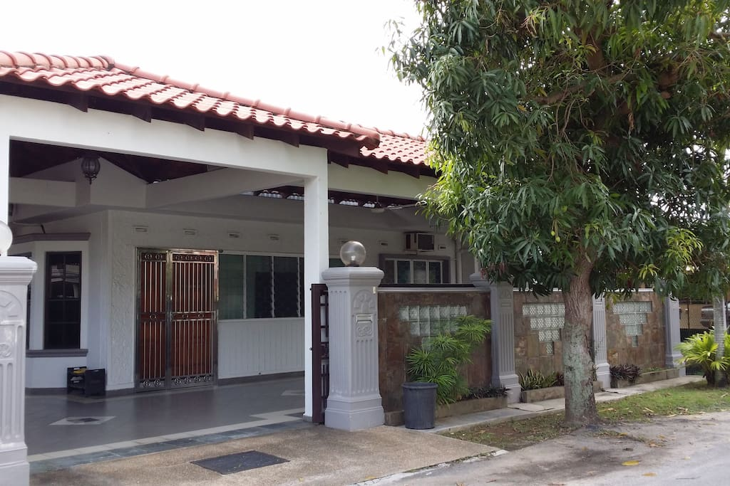 House front entrance