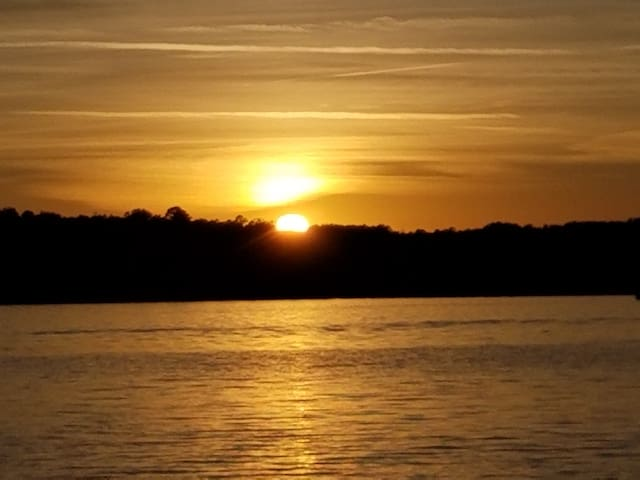 Amazing sunset views