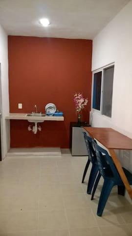 Habitación Cómoda Y Acogedora. - Mérida - Apartament