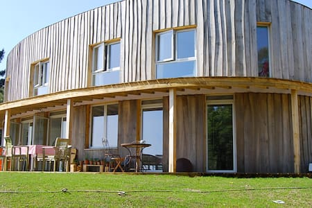 Stunning Round House with Sea Views - Dorset - Haus