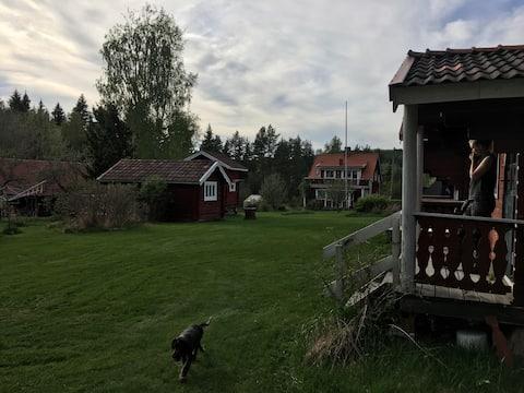 Ryttargårdens stugby (Humlehuset)