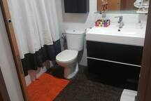 modern bathroom for your total comfort.