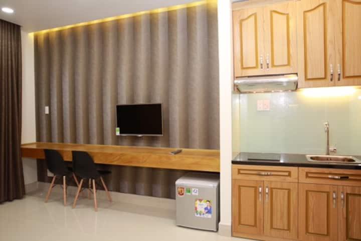 JHOUSE studio apartment at Tran Dinh Xu