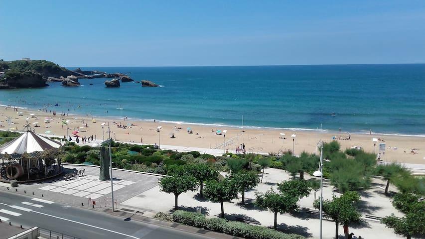 Studio sur la grande plage