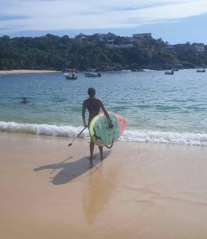 Conoce dos de las playas más tranquilas