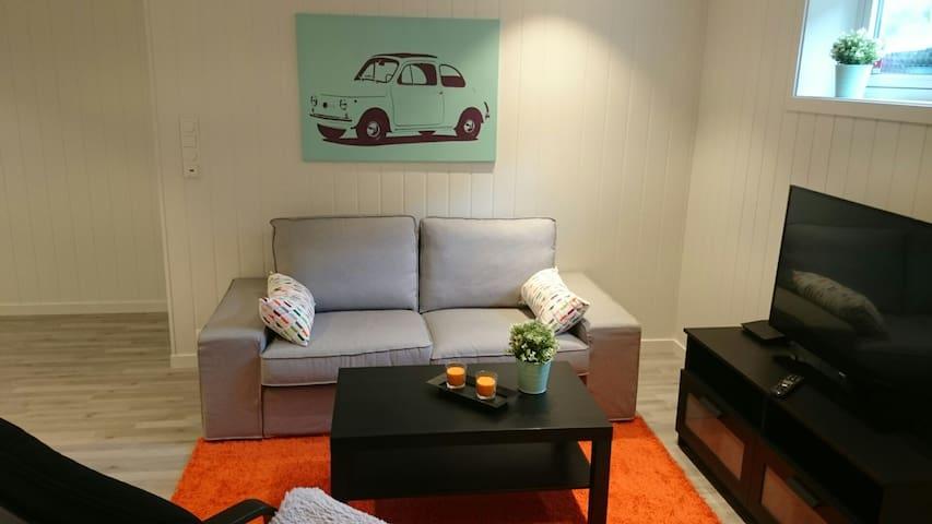 Modern apartment near Trolltunga - Odda - Lägenhet