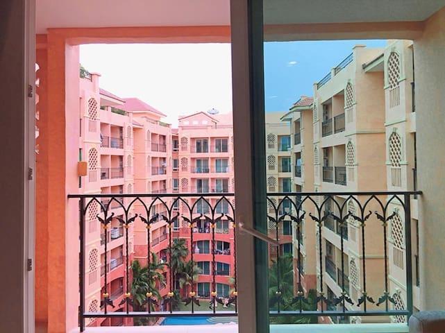 SEVEN SEAS公寓泳池景房/七种主题泳池/芭提雅最大水系网红公寓❀