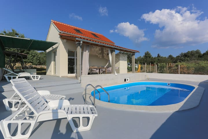 Baras garden - house and property with large pool