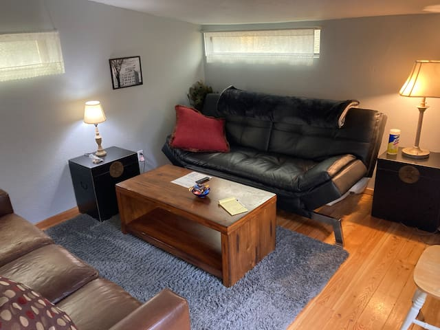Small living room space