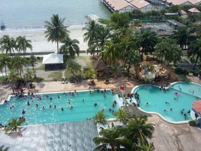 Glory beach resort 3room