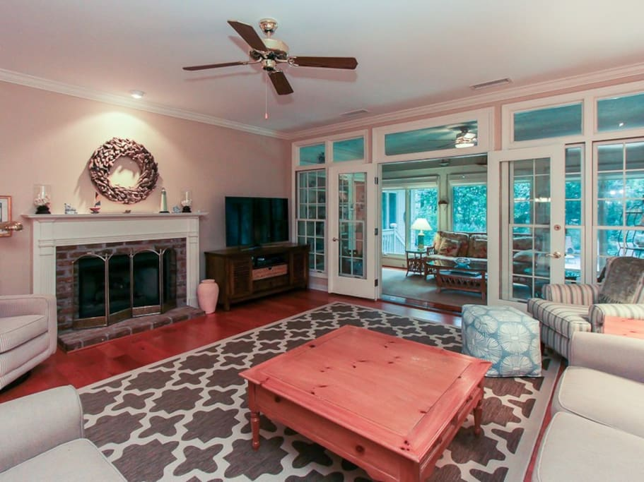 Living Room at 4 East Garrison Place