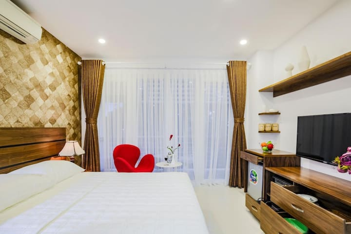 Elegant Studio near Reunification Palace, Dist. 3 - Ho Chi Minh City - Apartemen