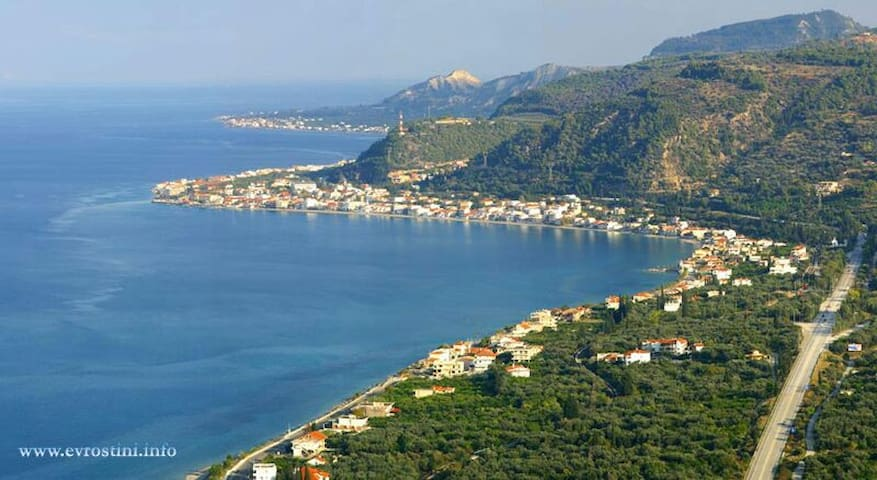 APARTMENT 50 METERS  FROM THE SEA! - Λυκοποριά