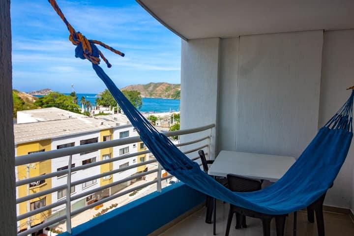 Apartamento linda vista al mar - Bedviajes