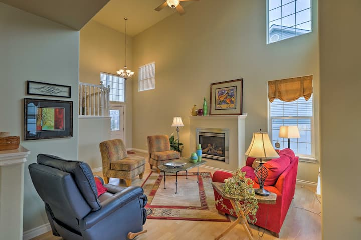 2-Story Kalispell Townhome w/Yard - By State Parks