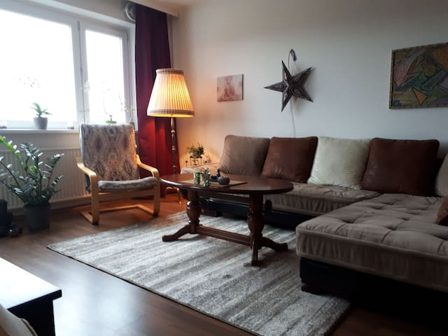 *Central Appartment in Hamburg with nice view*