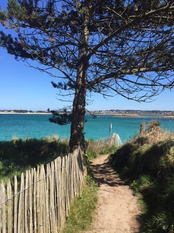 Maison bretonne granit, 100m plage - Pleumeur-Bodou