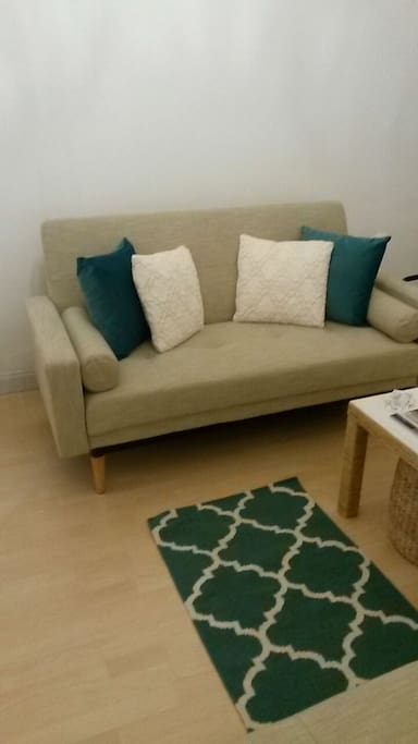 Sofabed for up to 2 people