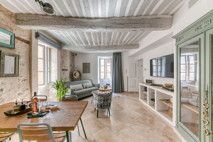 Luxury Cosy flat in the heart of Valbonne village