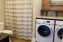 New laundry with steam setting