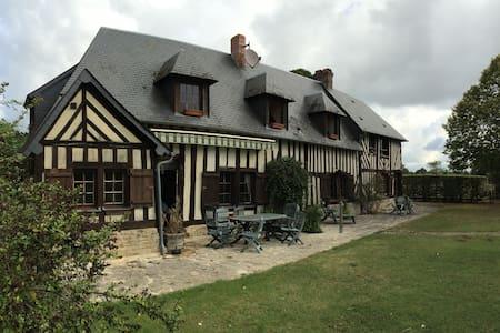 Maison de famille au coeur du pays d'Auge - Notre-Dame-de-Livaye