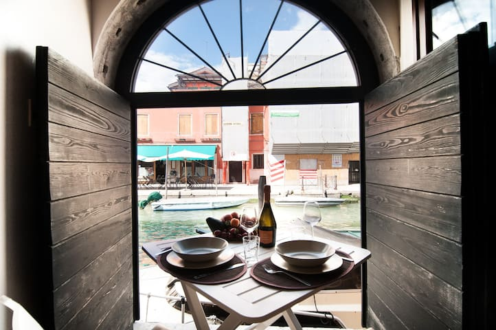 Corallo Holiday You'll love the patio on the canal
