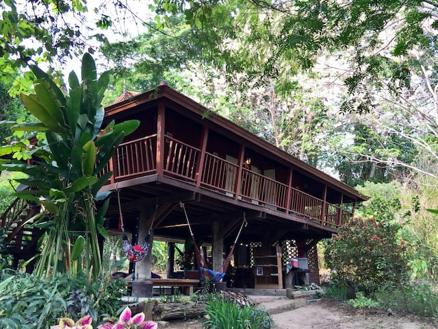Old Thai House Villa - Chiang Mai - Villa