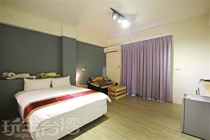 台南亞特旅店-雙人套房不挑房-安平老街,赤崁樓,花園夜市,奇美博物館