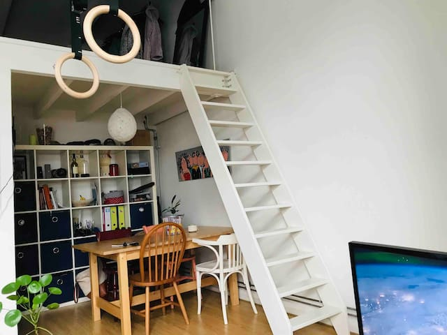 Gehele appartement: 2 pers. - centrum Leeuwarden