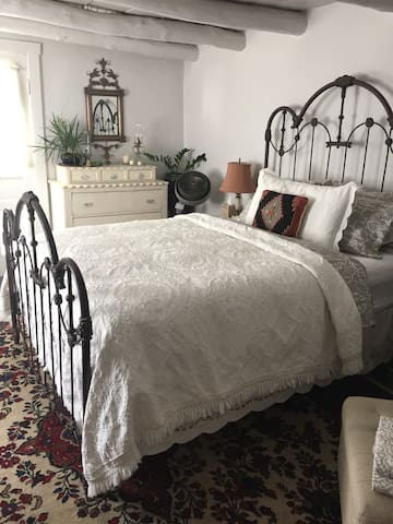 Bedroom with Old World charm