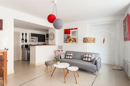 Cosy, center, patio - Narbonne - Apartment