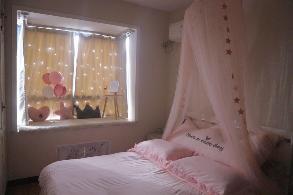粉色梦幻房