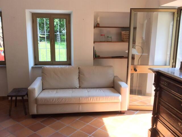 House between Turin & Milan, Lake Maggiore & Como