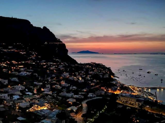 Capri panoramic view apartment