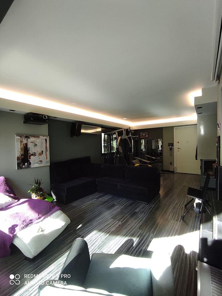 Υπερπολυτελές διαμέρισμα 80 τμ